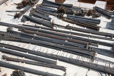 Steel Bars Stock Image