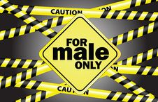 Free For Male Only Royalty Free Stock Images - 20287629