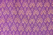 Free Ancient Thai Silk,Traditional Hand-woven Silk. Royalty Free Stock Photos - 20288628