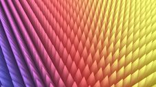 Free 3d Rendering Of Abstract Colorful Pyramid Array Royalty Free Stock Photos - 20289098