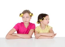 Free Sisters Attitude Royalty Free Stock Photos - 20289888