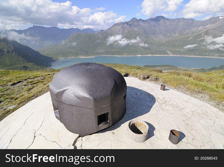 Observation tower - fire centre 12 - Vallo Alpino