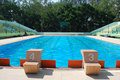 Free Lane Swimming Pool In Outdoor Pool Stock Photography - 20290292