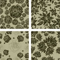 Free Seamless Grunge Floral Pattern Stock Photography - 20295032
