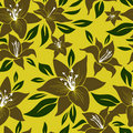 Free Seamless Floral Pattern Stock Images - 20295034