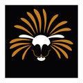 Free Solar Lion  Illustration Royalty Free Stock Image - 20295246
