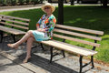 Free Sitting Outdoors In Relaxation. Stock Photos - 20297413