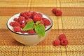 Free Raspberries In Milk Royalty Free Stock Photo - 20298055
