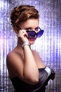 Free Sexy Young Woman Wearing Sunglasses. Royalty Free Stock Photography - 20298797
