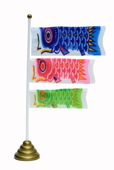 Free Fancy Carp Flag Stock Photos - 20290713