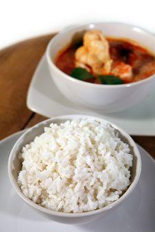 Free Thai Jasmine Rice Royalty Free Stock Images - 20290919