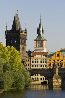 Free Charles Bridge And Old Town Bridge Tower Stock Photo - 20291110