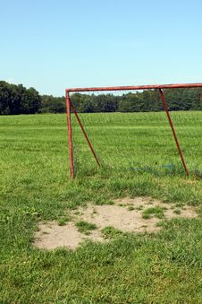 Football Goal Stock Images