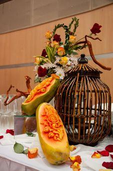Free Crafted Papaya Fruit Stock Photos - 20291423