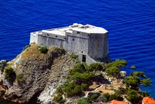 Free Castle In Dubrovnik Royalty Free Stock Image - 20291586