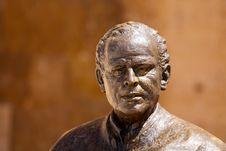 Free Statue Of Luis Navas Royalty Free Stock Photos - 20291748