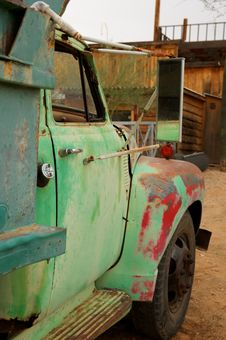 Rusty Old Truck With Patches Of Paint Royalty Free Stock Images