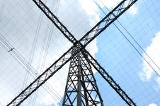 Free Special Type Of Power Transmission Tower Stock Photo - 20292390