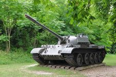 Free Old Tank In Front Of Monostor Fortress - Hungary Royalty Free Stock Image - 20292506