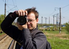 Free Young Photografer Stock Image - 20293131