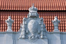 Free Old Bas-relief On The Roof Stock Photos - 20293193