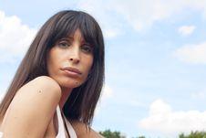 Free Beautiful Woman With Full Lips Stock Photo - 20293210