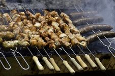 Free Charcoal Grill Stock Photography - 20293722