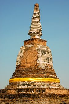Free Stupa Of Maheyong Measure Royalty Free Stock Photos - 20294108