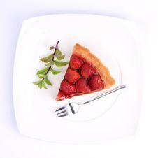 Free Strawberry Tart Royalty Free Stock Photography - 20294797