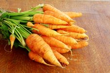 Free Fresh Organic Carrots Stock Photos - 20294973