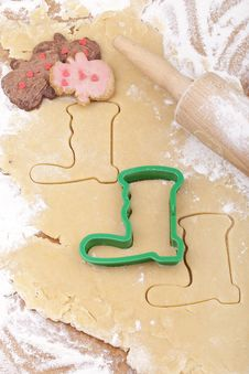Free Christmas Cookies Royalty Free Stock Photography - 20295167