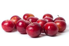 Free Red Plums Royalty Free Stock Photography - 20295197