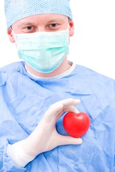 Free Doctor With Heart Stock Photo - 20296340