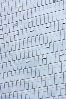 Free Silver Office Building Glass Wall Royalty Free Stock Photo - 20296385