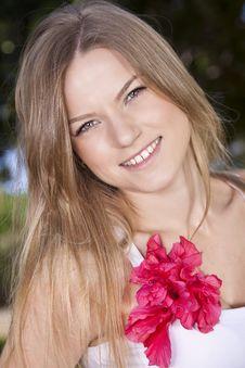 Beauty Blonde Stock Photography
