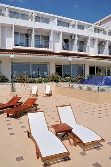 Free Beach Chairs At Resort Stock Photo - 20296550