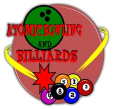 Bowling And Billiards Background Royalty Free Stock Photography