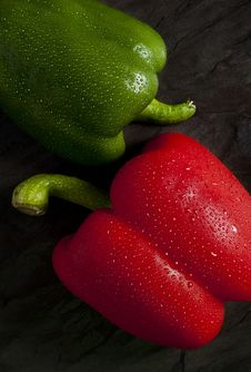 Free Green And Red Pepper Stock Photo - 20296970