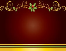 Free Christmas Card Gift Background  Illustration Royalty Free Stock Photography - 20297217