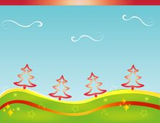 Free Christmas Card Gift Background  Illustration Stock Photo - 20297310