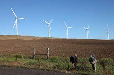 Free Wind Energy Technology. Stock Image - 20297381
