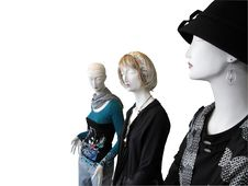 Free Three Mannequin S Royalty Free Stock Image - 20297786