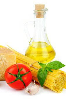 Free Ingredients For Italian Pasta Stock Image - 20298061
