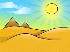 Free Desert Landscape Stock Images - 20298084