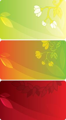 Free 3 Colorful Cards Stock Images - 20298234