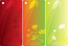 Free 3 Colorful Gift Tags Royalty Free Stock Photos - 20298238