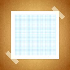 Free Green Line Graph Paper Royalty Free Stock Images - 20298289