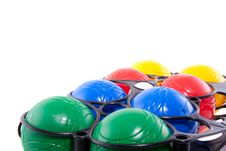 Free Colorful Jeu De Boules Balls Royalty Free Stock Photo - 20298545