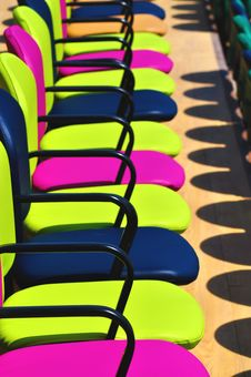 Free Colourful Chairs Stock Images - 20298944