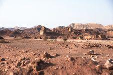 Free Travel In Arava Desert Stock Photos - 20299123